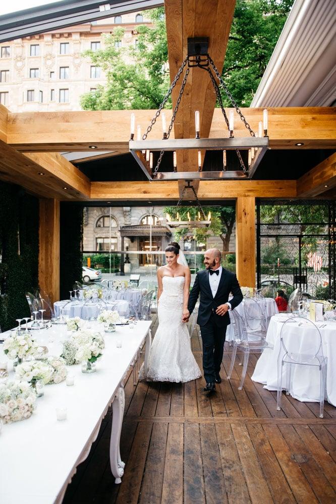 Ristorante Beatrice Montreal Toronto wedding Photographer