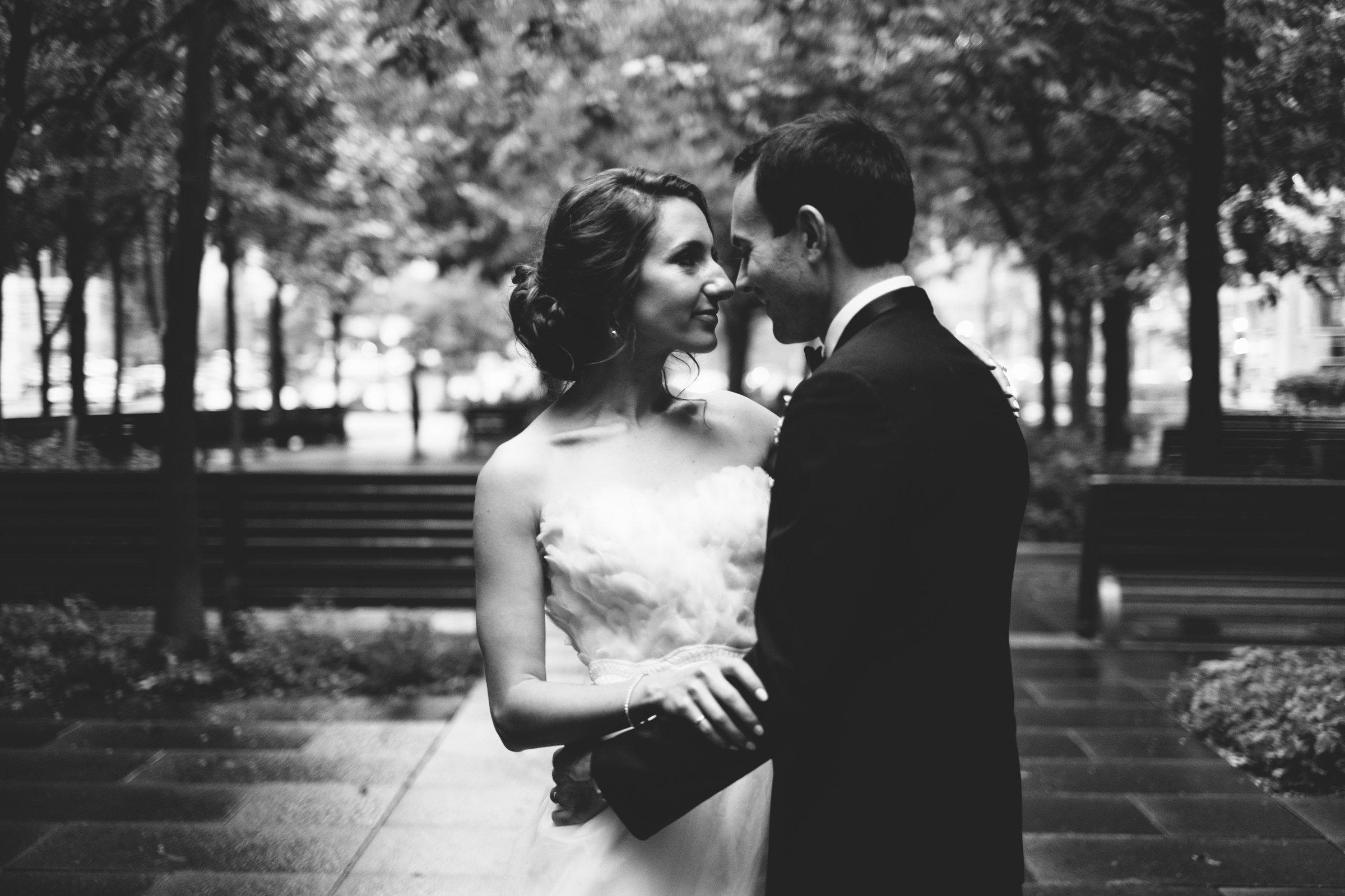 Montreal Wedding Photographers Bride and Groom Urban Wedding