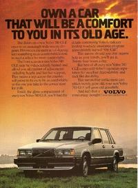 Volvo 740 GLE Ad