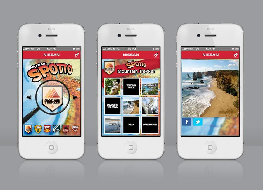 Spotto Iphone App Screens