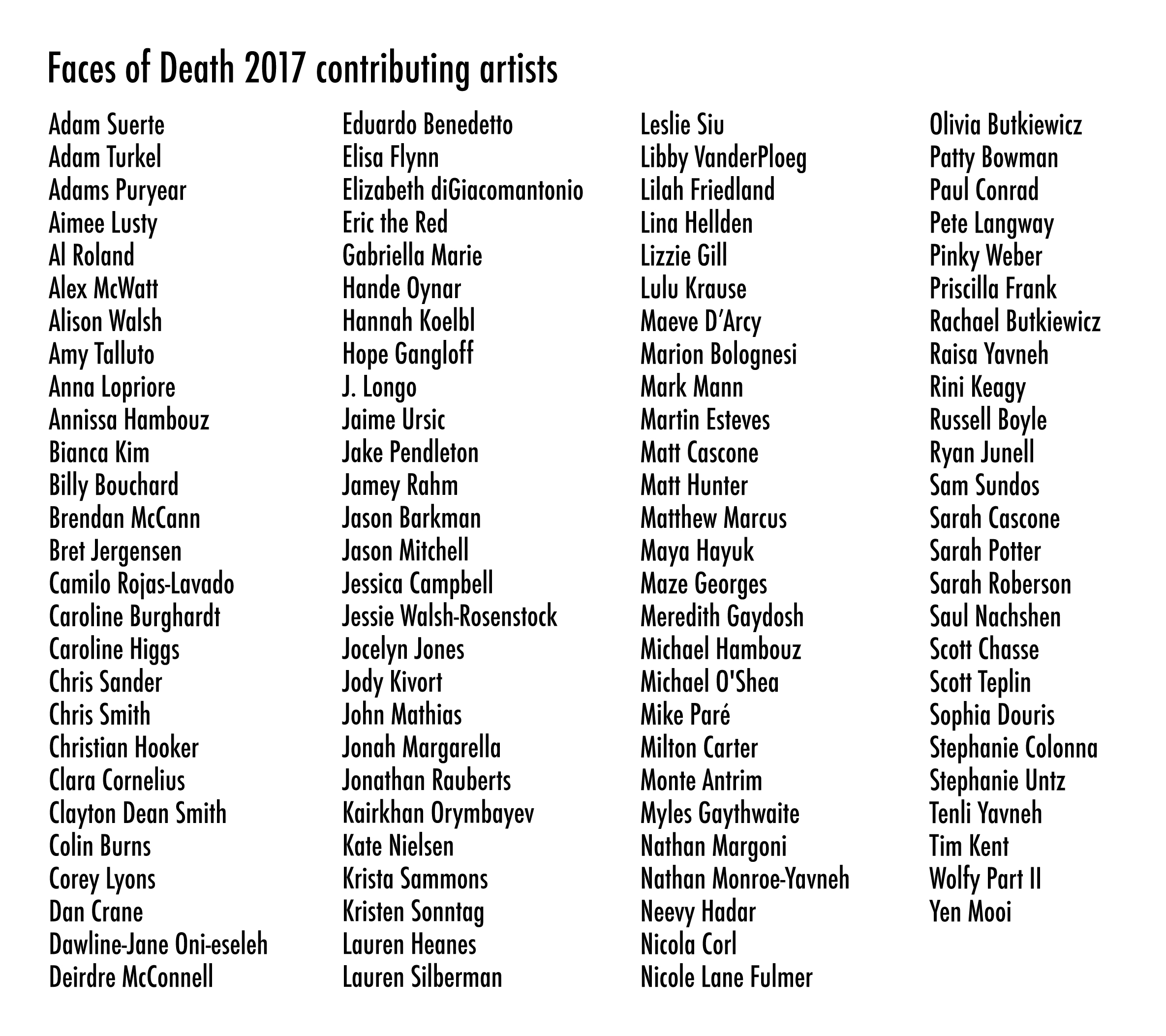 FOD2017_Artist List_unnumbered.jpg
