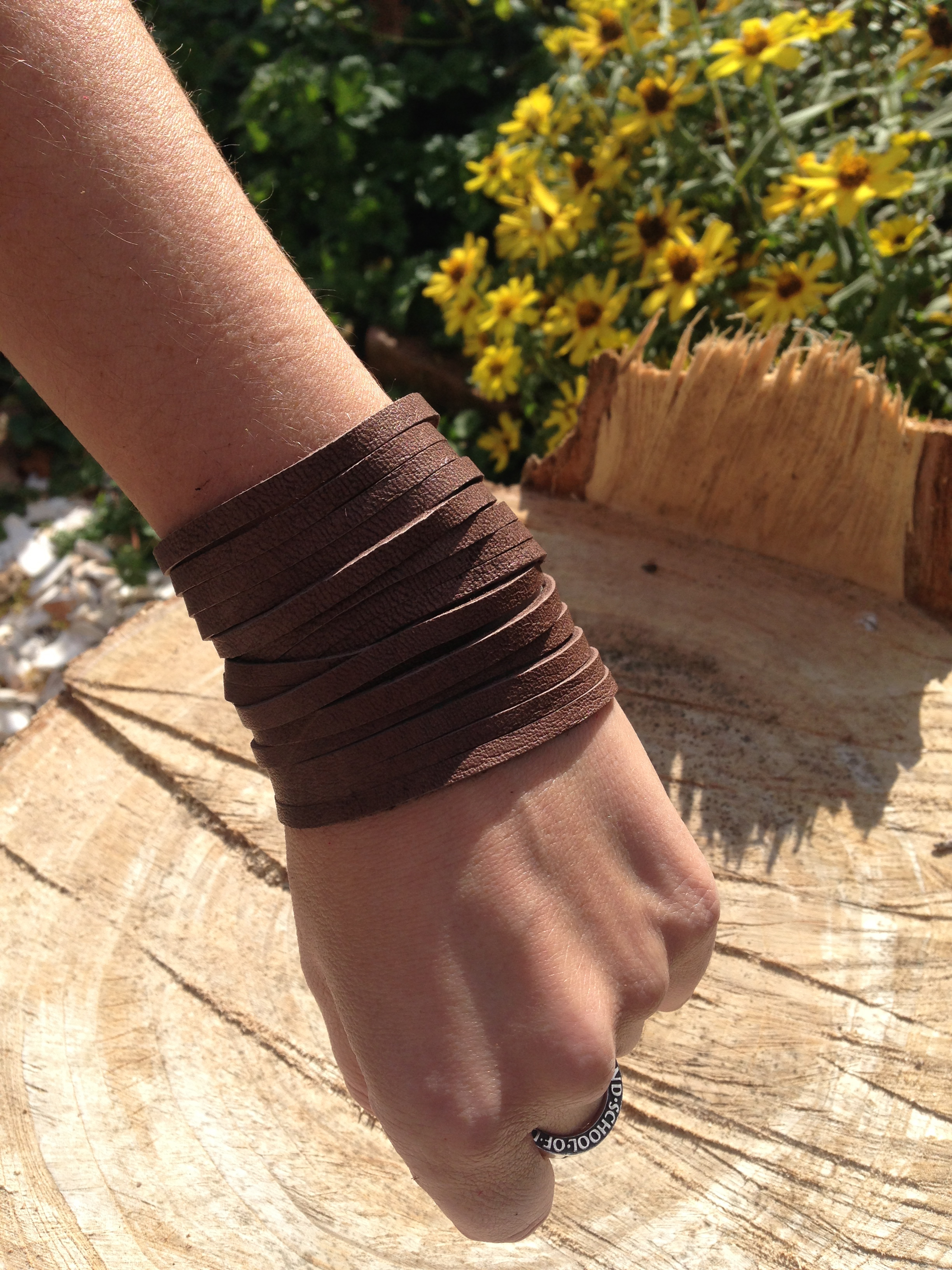 Double wrap     cocoa brown