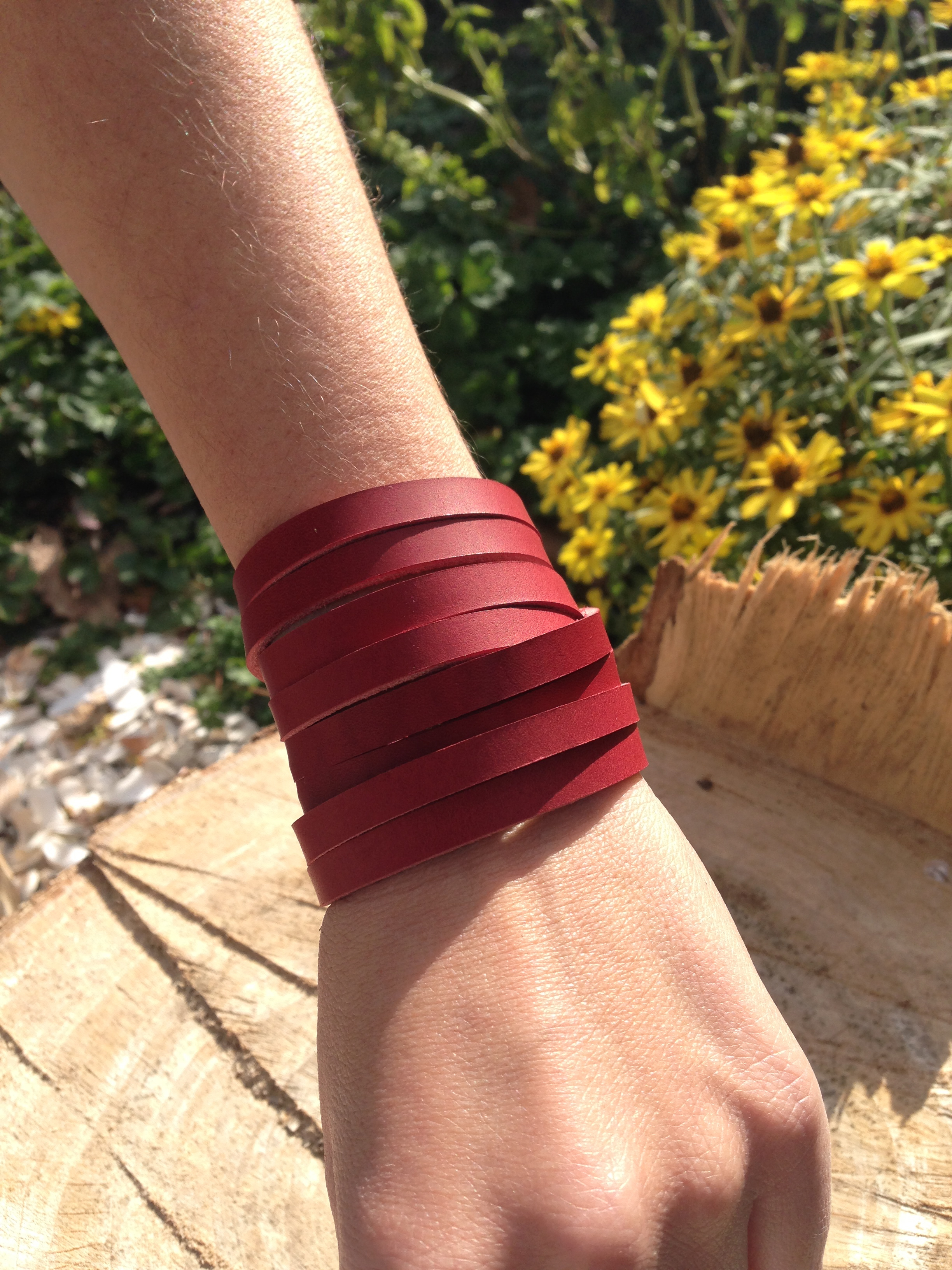 Multi wrap       apple red