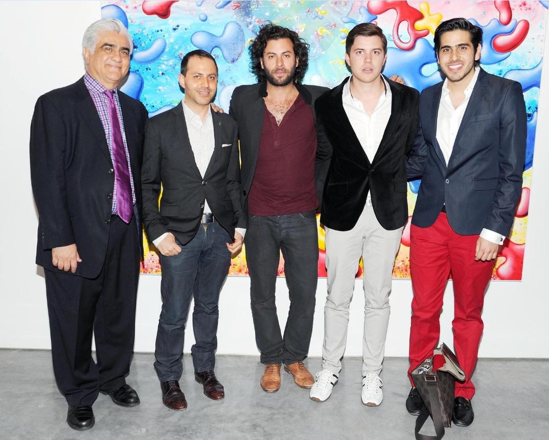 Ali Cordero Casal, Gabriel Rivera-Barraza and Mexican friends.