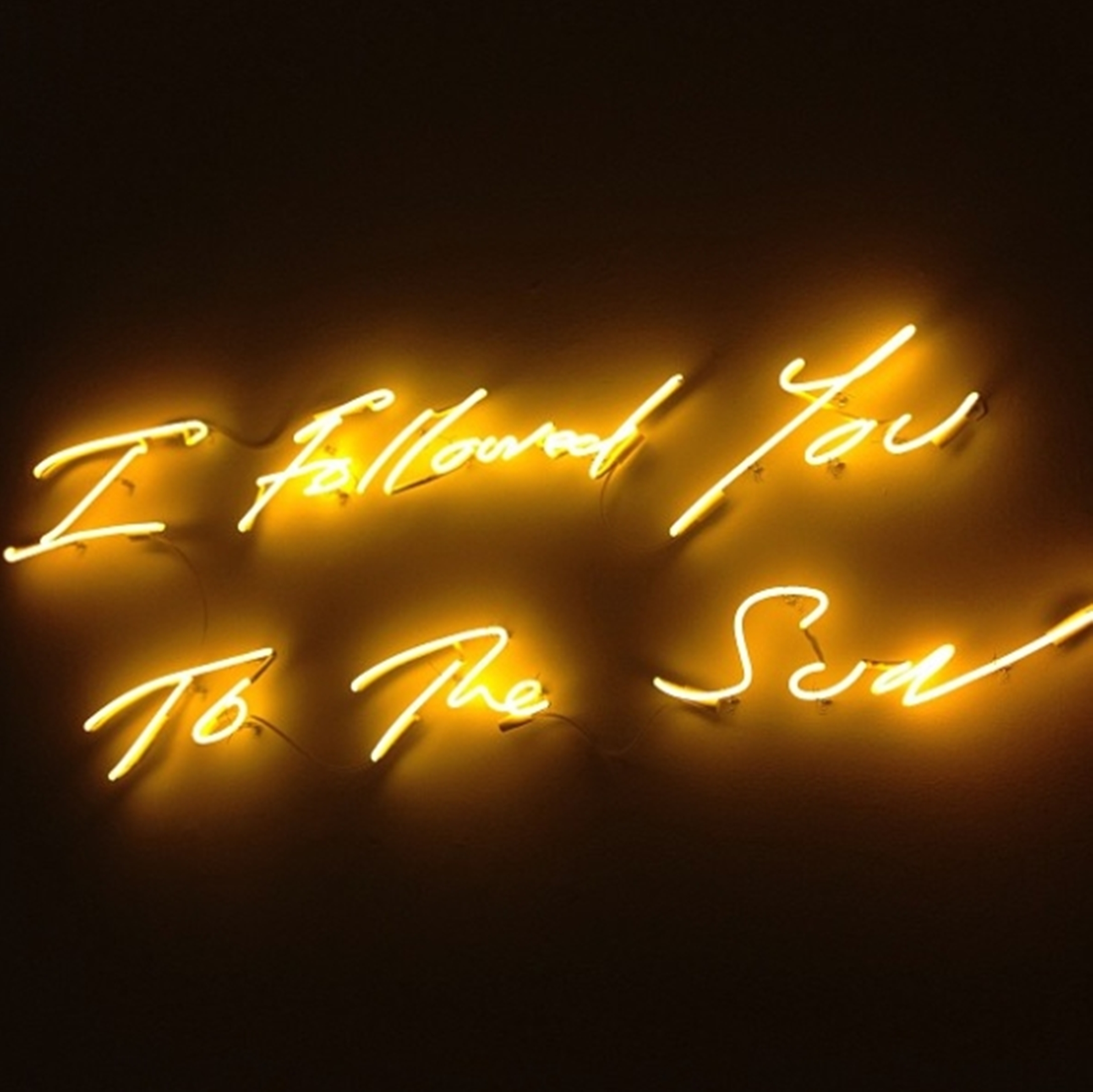 My favorite, the sunny and bright neon sculpture