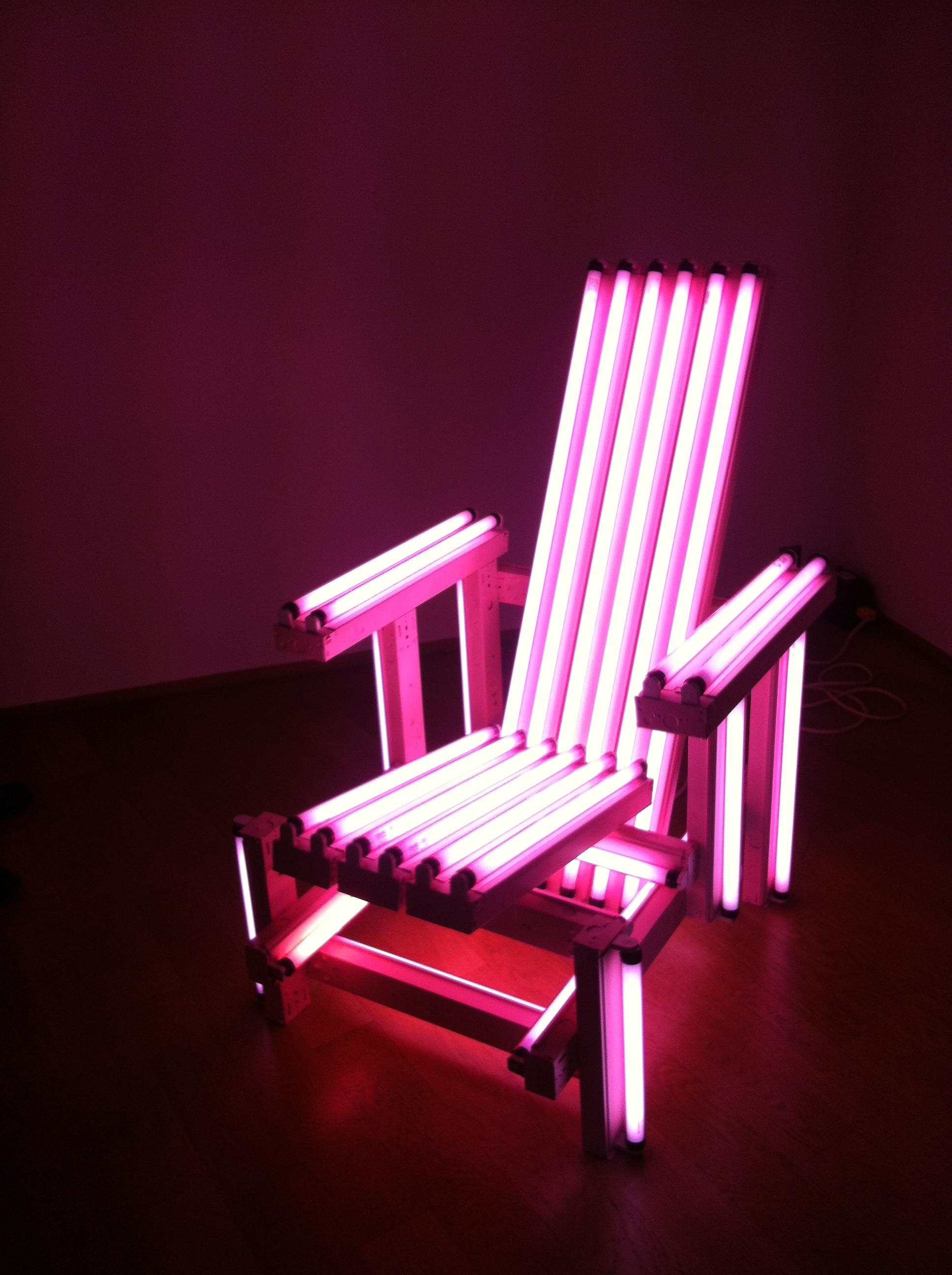 Ivan Navarro's Electric Chair