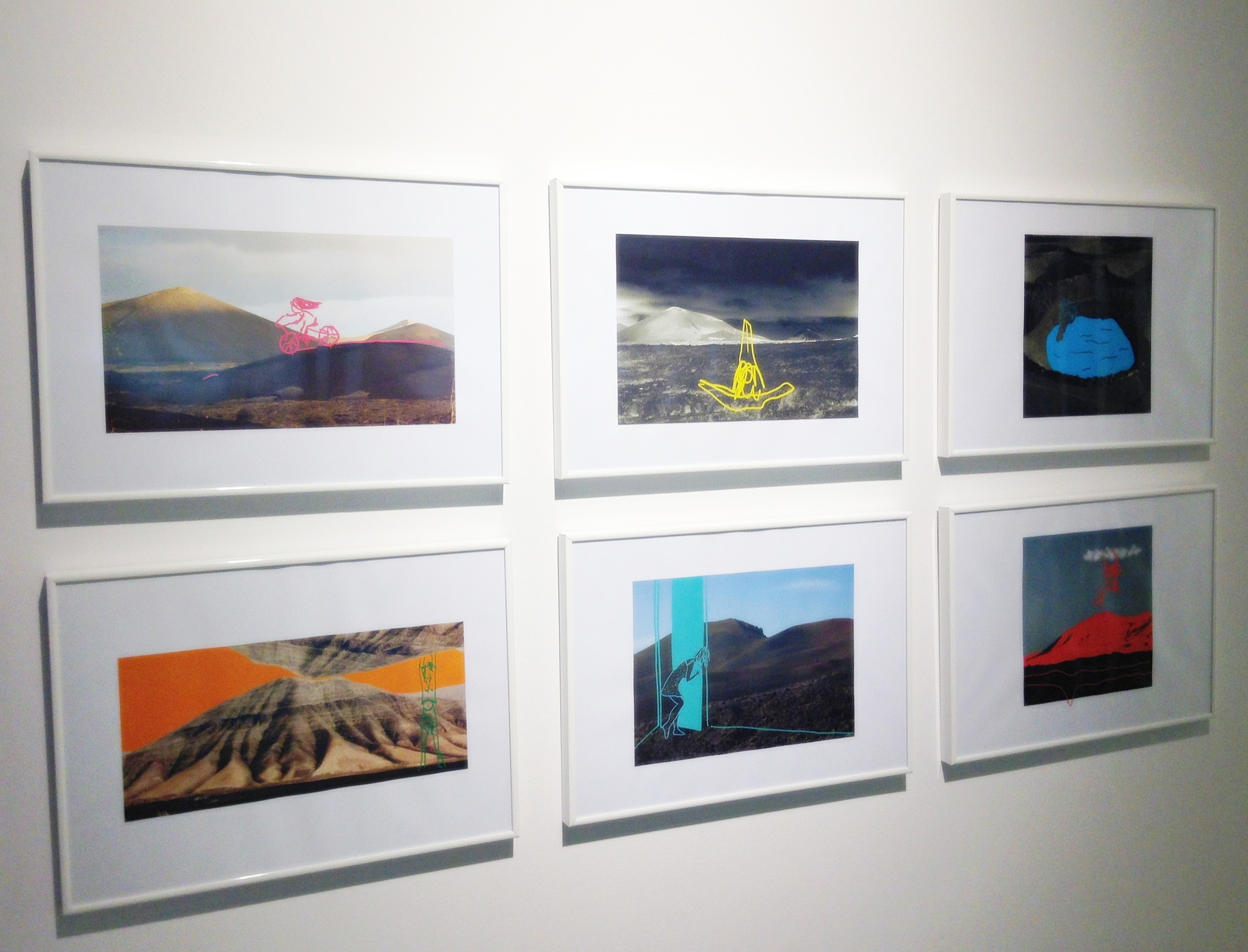 Another series of small framed photographs by Monica Sanchez-Robles
