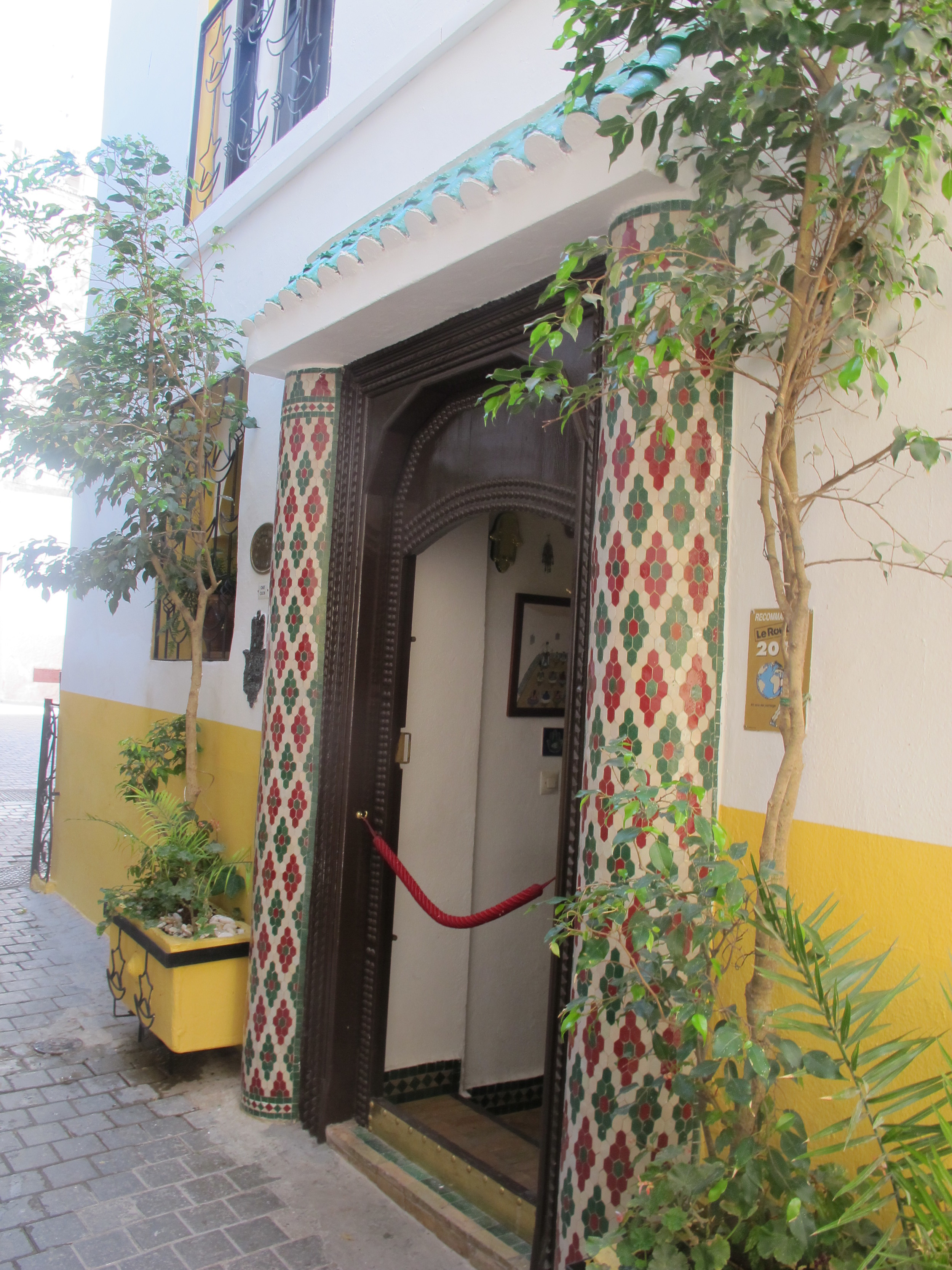 The entrance of another little gem in the Medina