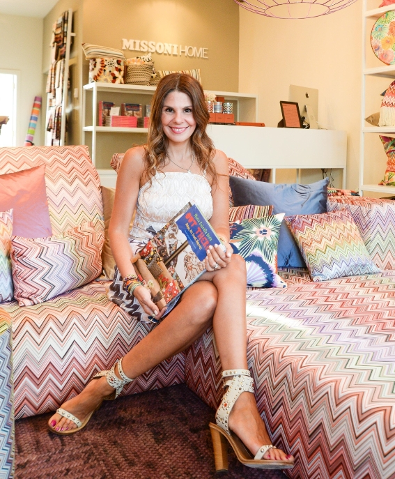 """At the book party that Missoni Home Hamptons hosted for """"Out There"""""""