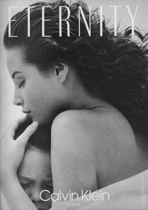 First Eternity campaign shot by Bruce Weber in 1989