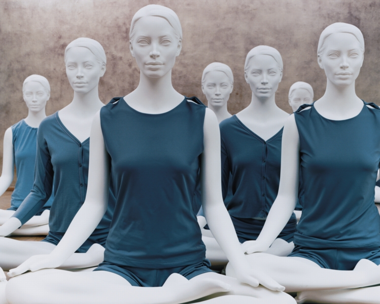 The mannequins commissioned by Ralph Pucci in 1993 for the Costume Institute