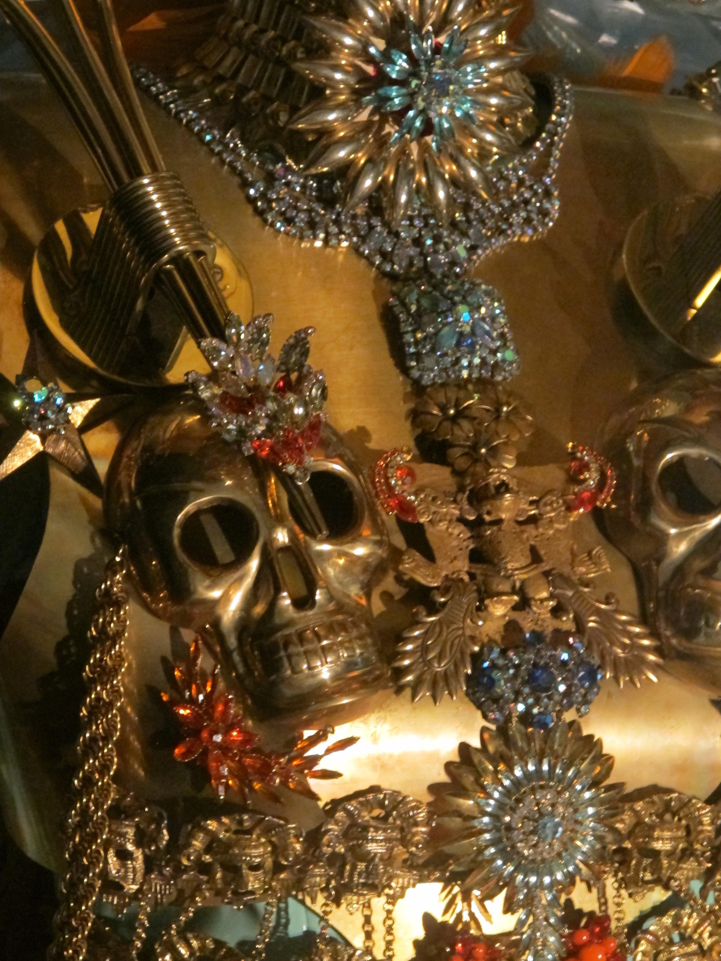 Detail of Alexandre Keller's fantastic installation