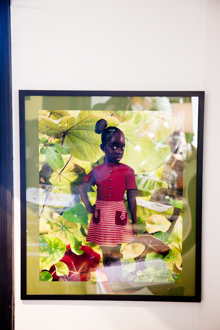 I love Ruud van Empel and have one of his pieces,  It was such a treat to find this one in Nicole's apartment.