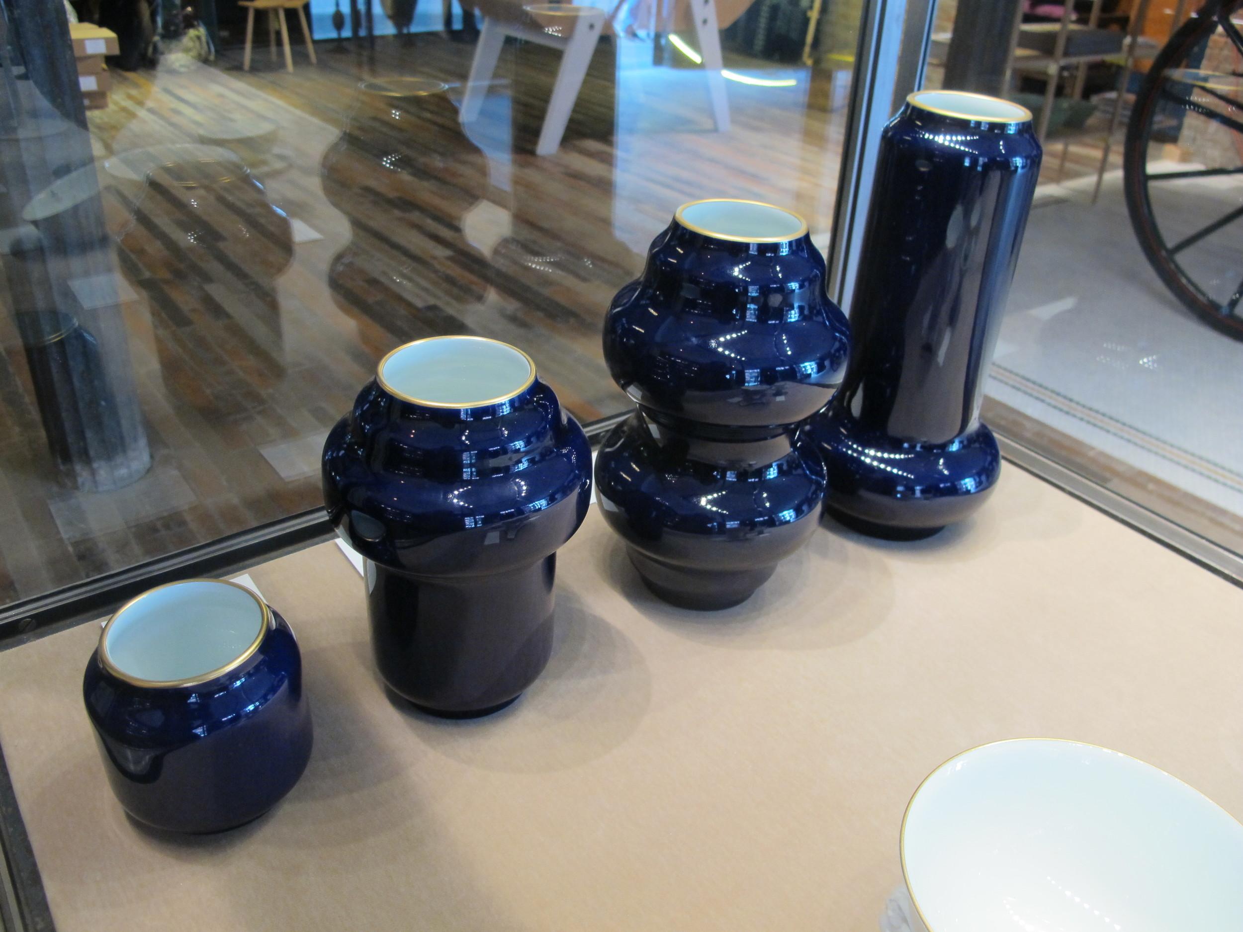 More Sèvres exquisite porcelain vases