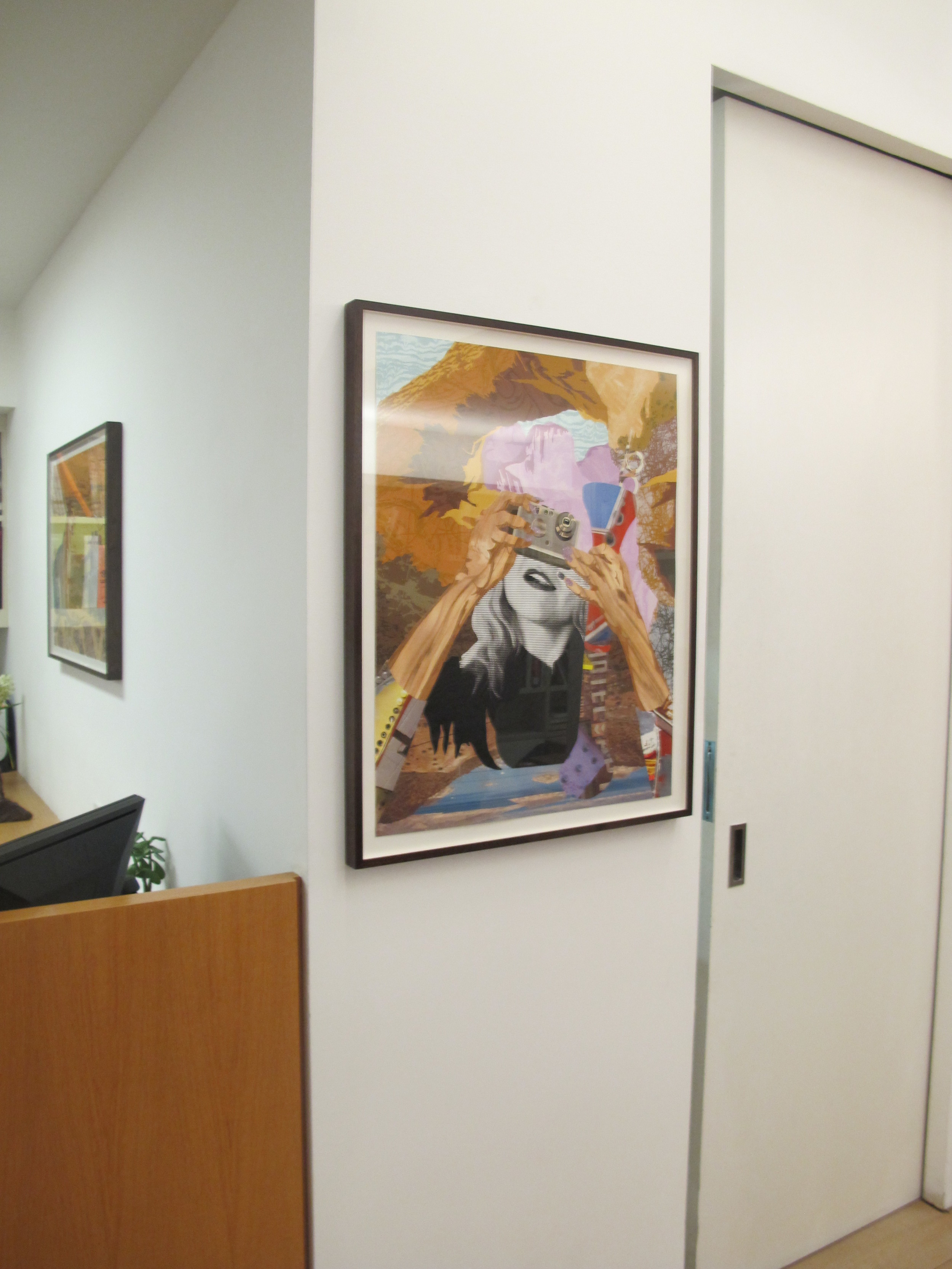 Schilderachtig already framed hanging on the walls of James Cohan Gallery