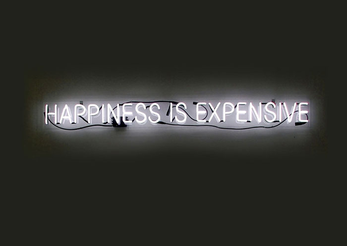 """Alejandro Diaz's """"Happiness Is Expensive"""""""