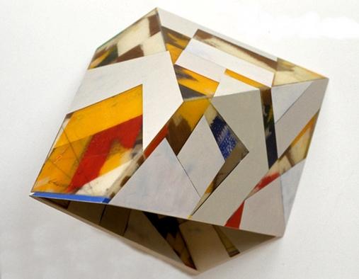 Garth Evans, Greyhound, 1990, epoxy resin, fibreglass, paint over cardboard. Avaialble at Johannes Vogt Gallery (Untitled Fair)