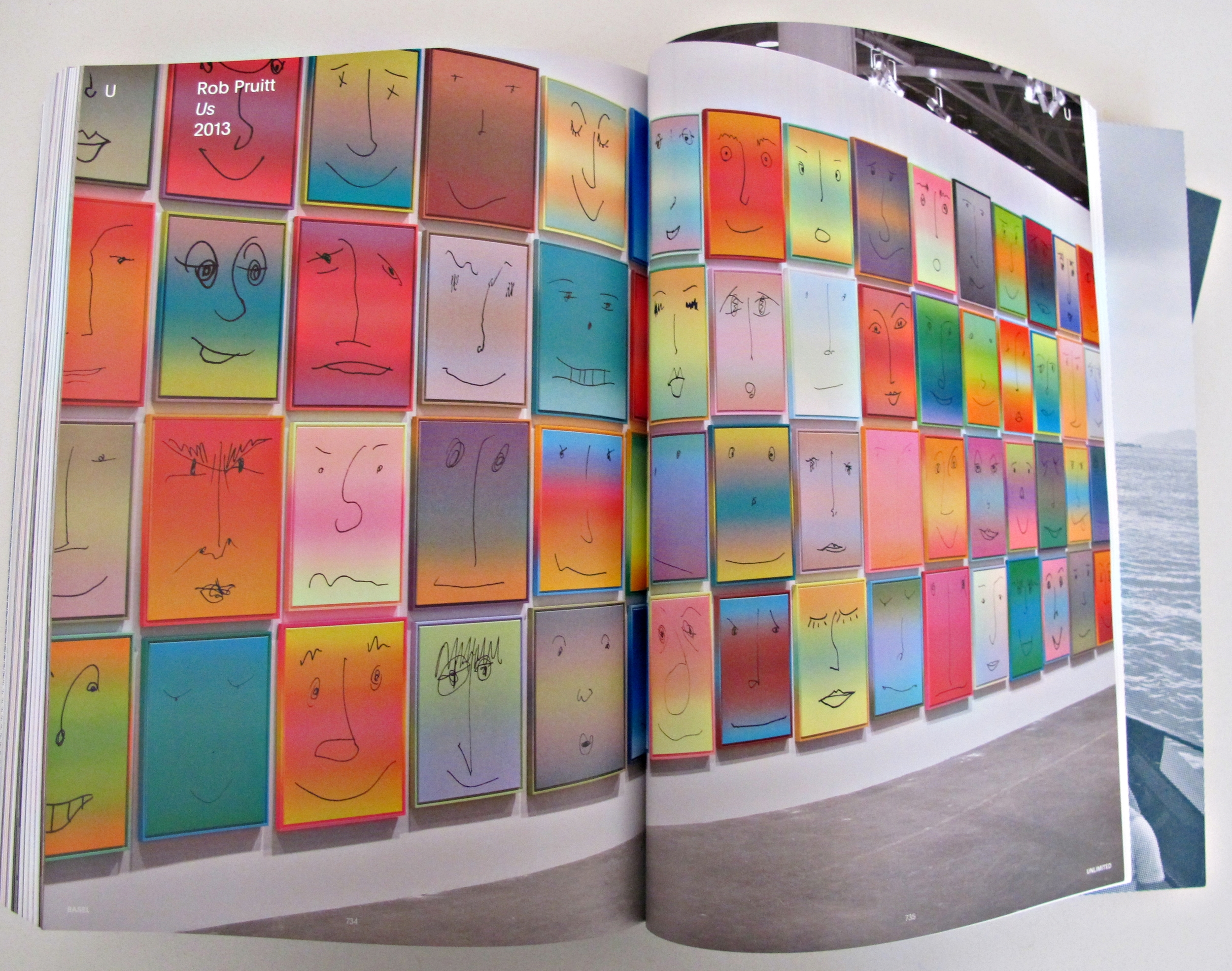 """Rob Pruitt's installation at """"Us' gallery in Basel, 2013"""