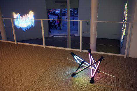 Galeria Senda with the work of James Clar