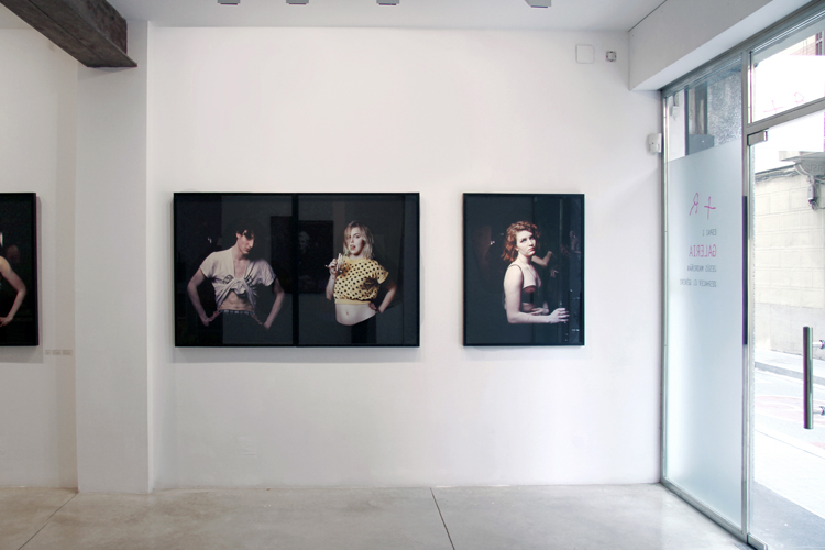 The current exhibit at +R with the photography of Jesus Madrinan