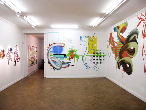 Murals and wall pieces by Cesar Delgado