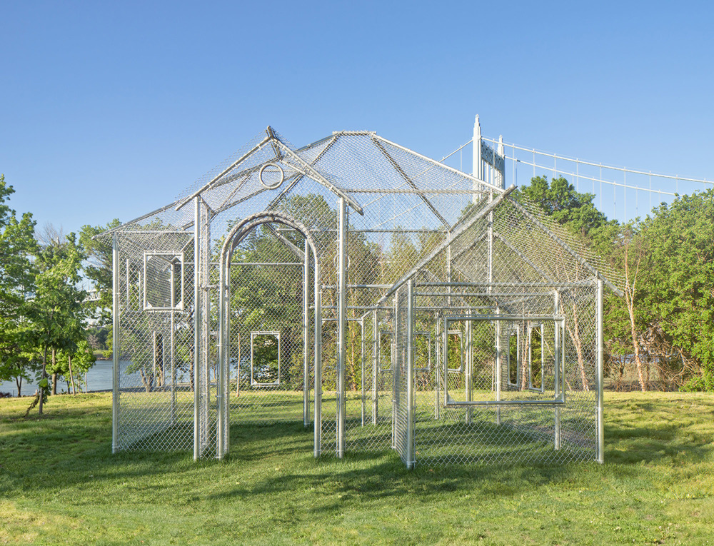 """Kant Smith's """"Ghost House"""" at Randall's Island Park"""