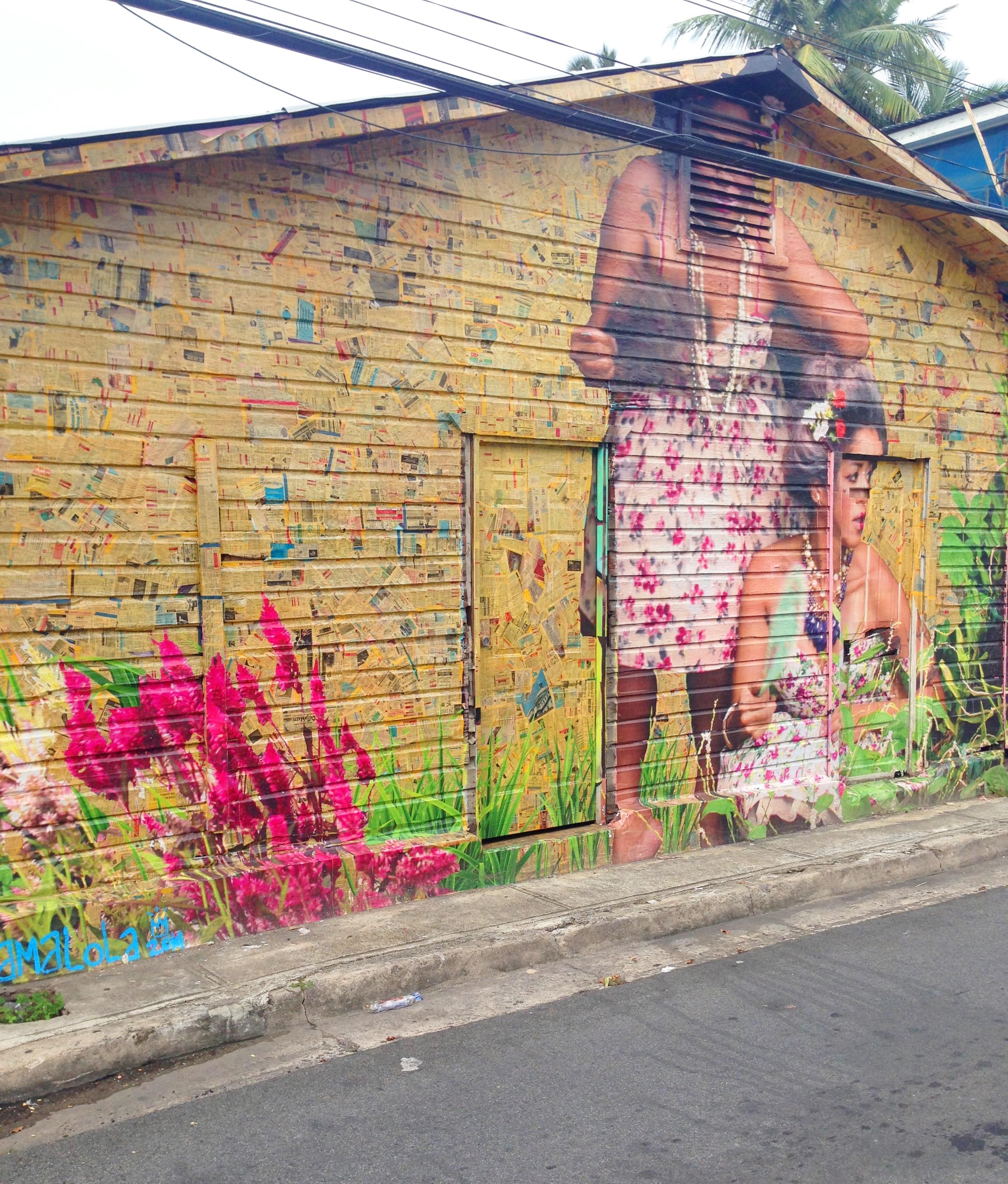 In Saturce es Ley, one of my favorite murals were the ones created by Damaris Cruz (Damalola)