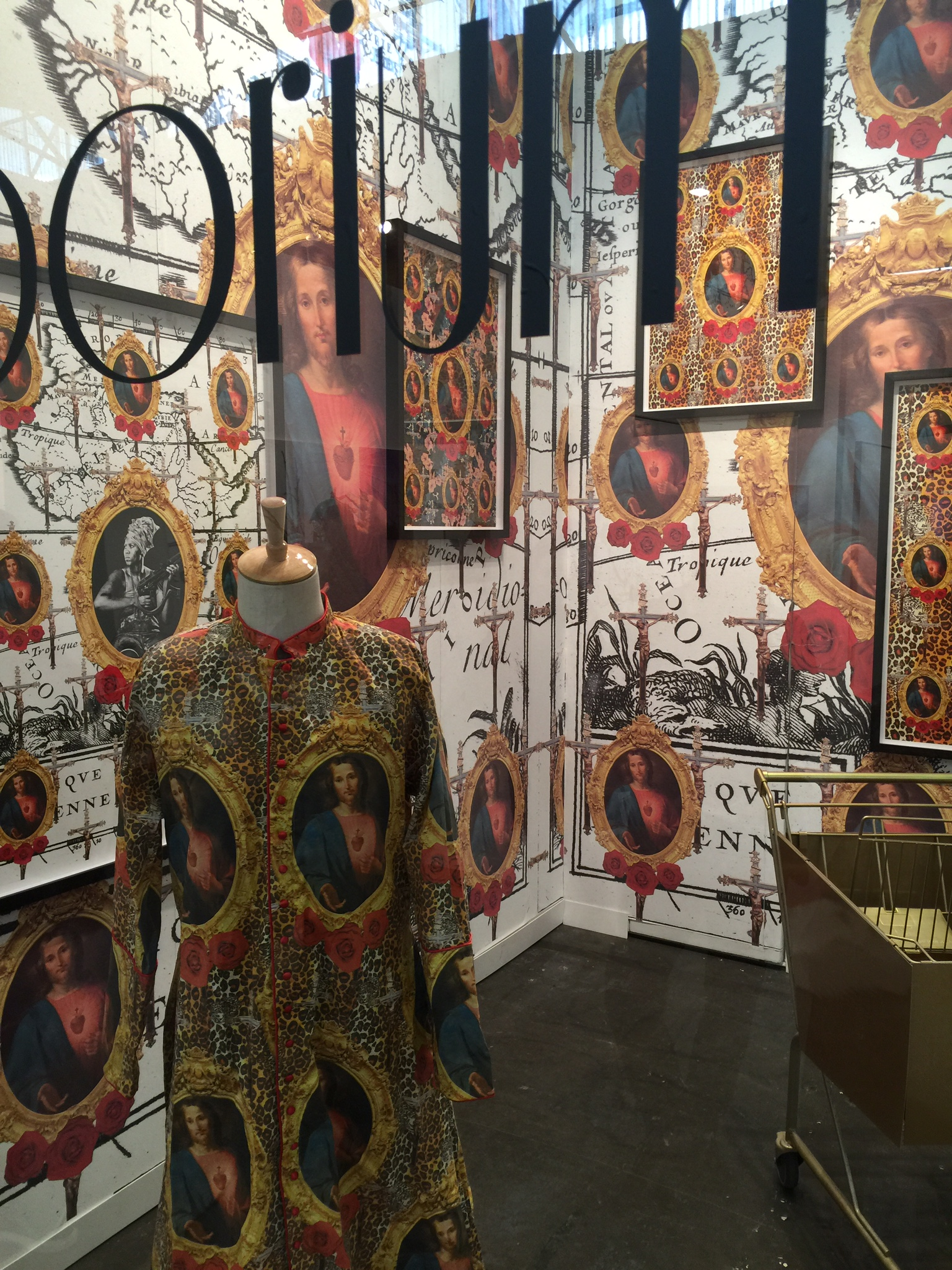 Kudzani Chiurai solo installation with Goodman Gallery at the Armory Show