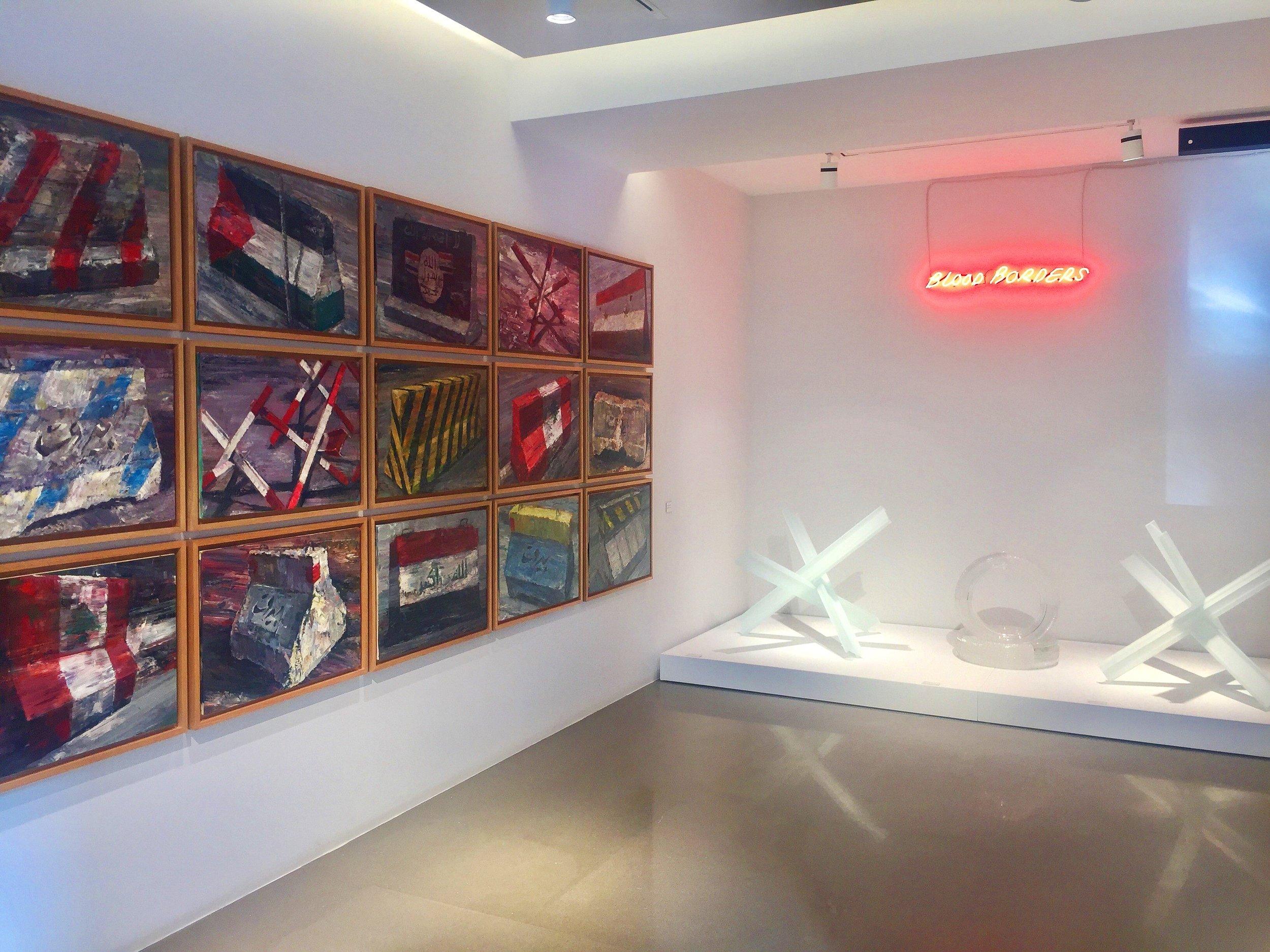 Ayman Baalbaki's solo show at Saleh Barakat Gallery