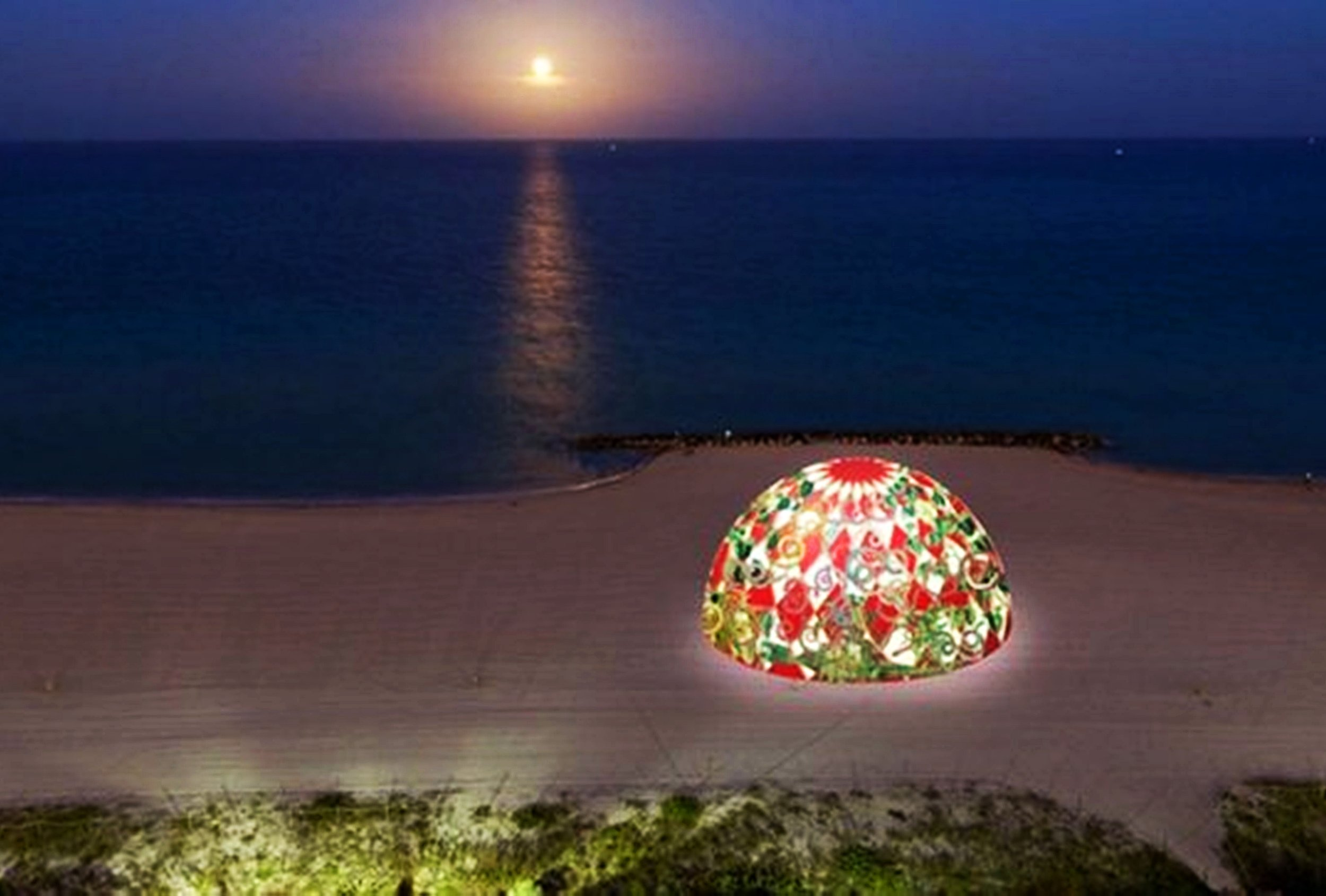 The Geodesic Dome designed by Juan Gatti for Faena