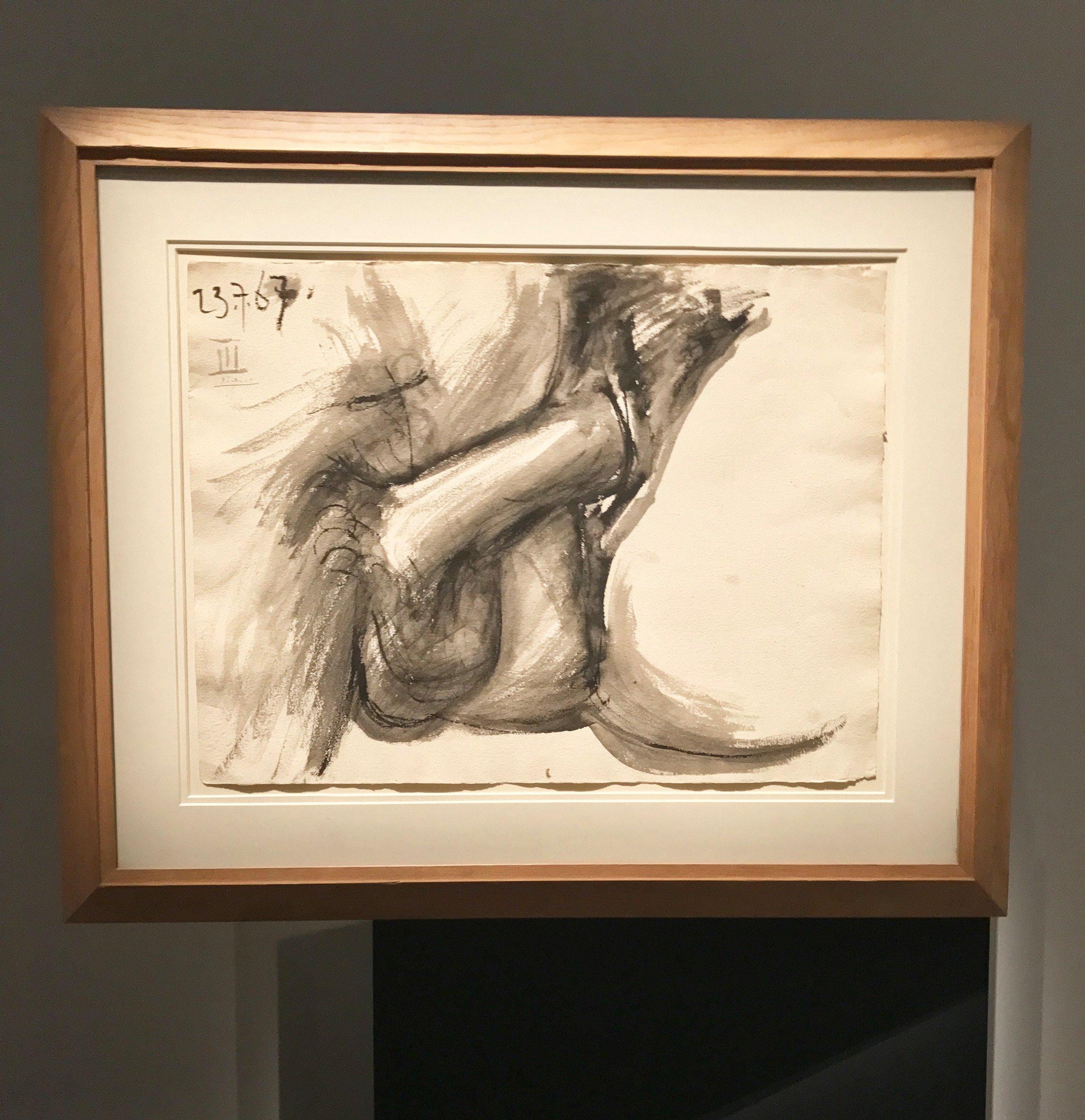 Pablo Picasso,  Sans Titre , 1967