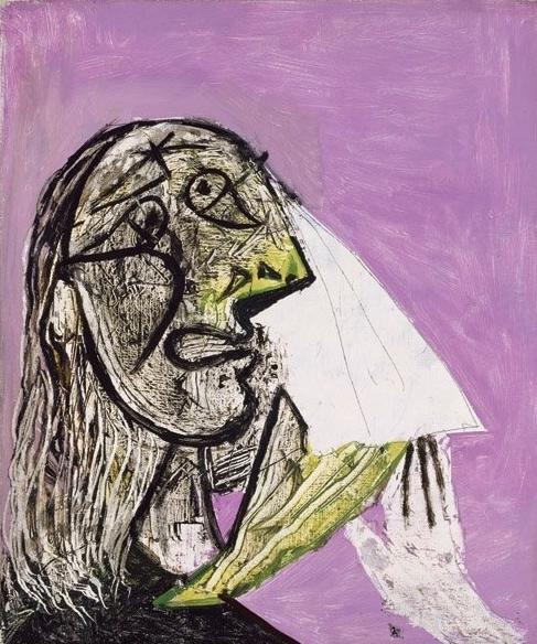 Pablo Picasso , La Femme Qui Pleure , 1937