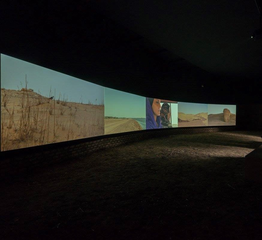 Moatz Nasr's film inside the Egyptian Pavilion