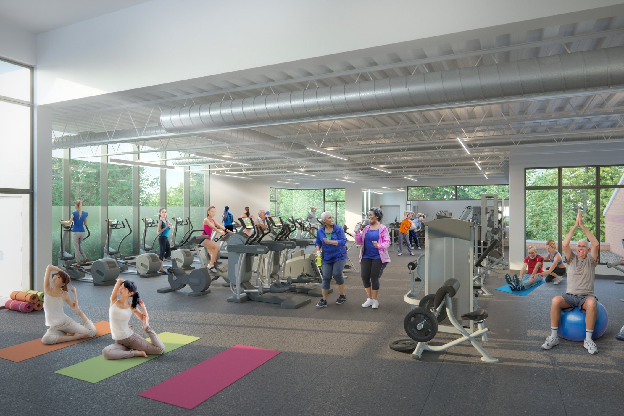 JCC Fitness Center Addition