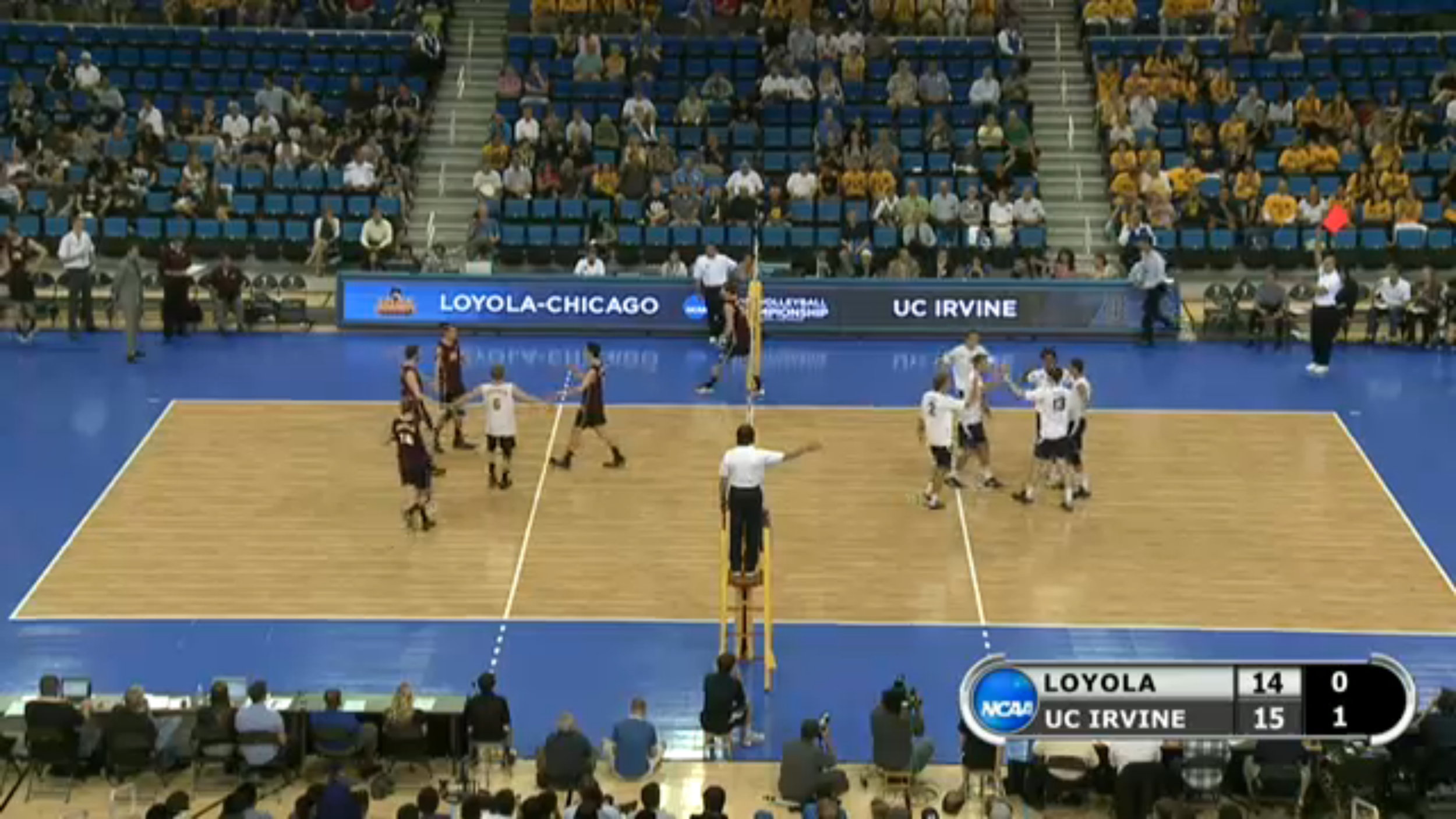 NCAA Men's Volleyball Championships from UCLA