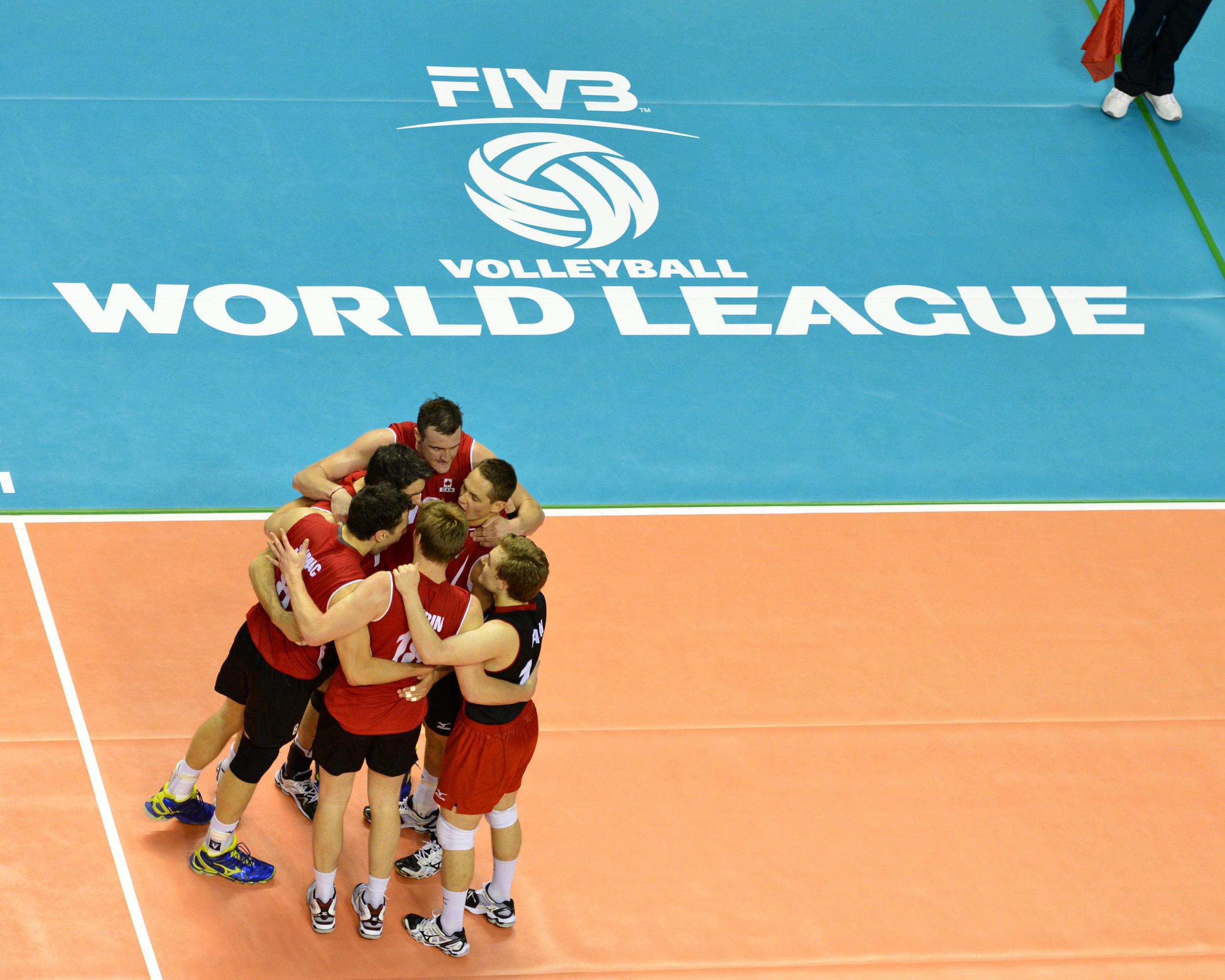 Will Canada's 2013 World League continue into the Final Round in Argentina? Photo: Phil McCallum Volleyball Canada/FIVB