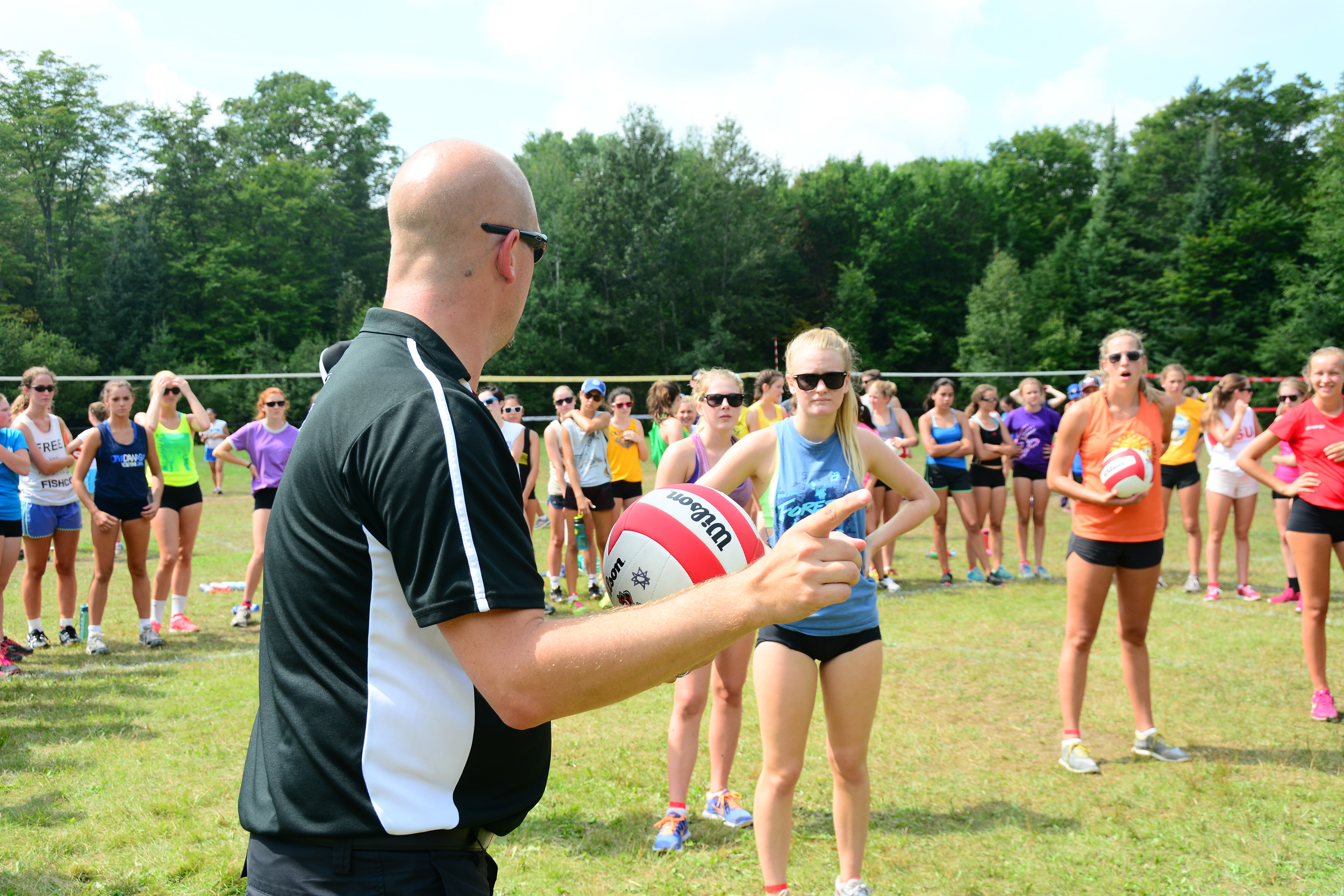 Shayne White of The University of Waterloo - One of the guest coaches this past summer.