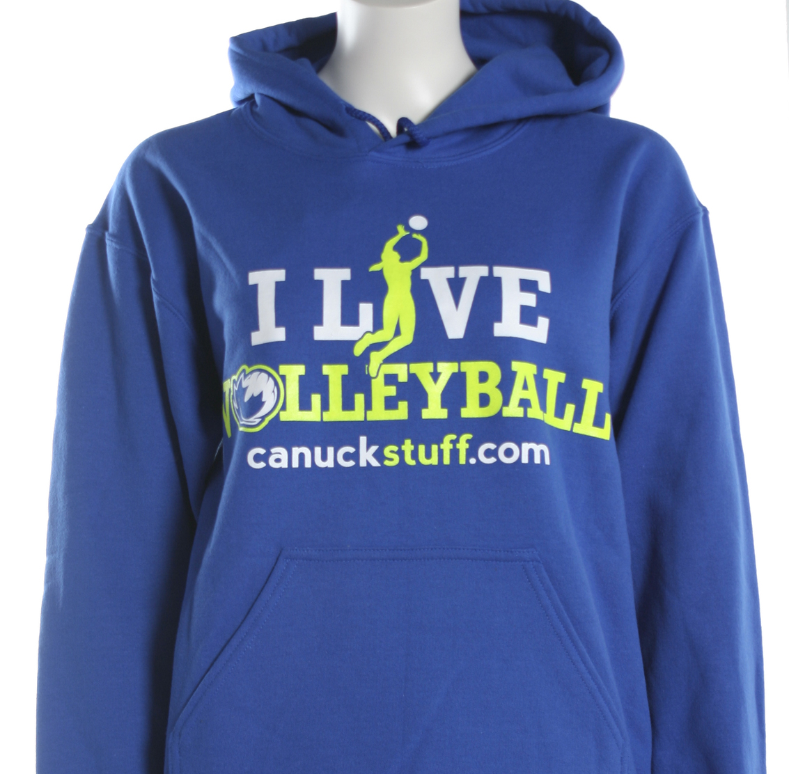 I Live Volleyball Hoodie