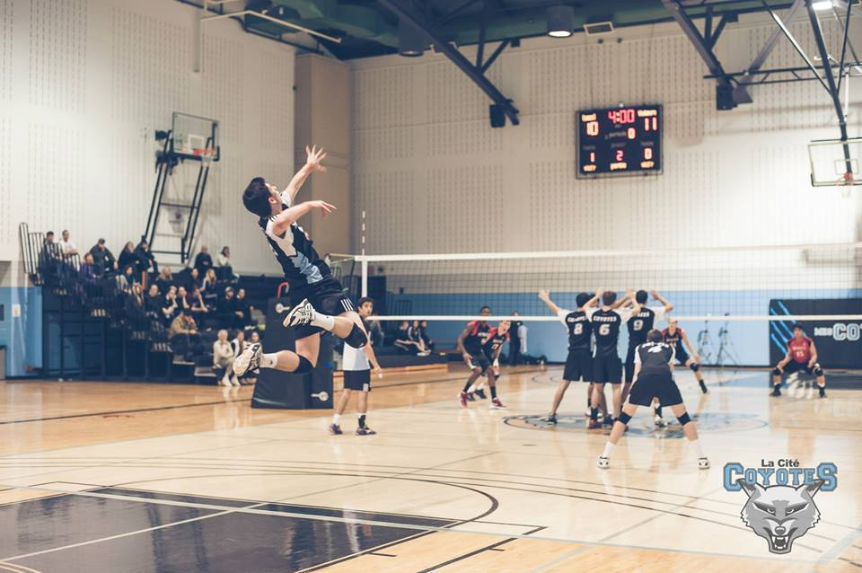 Keith Marier is in hi 4th year in the OCAA is now holds the all time kills and points record