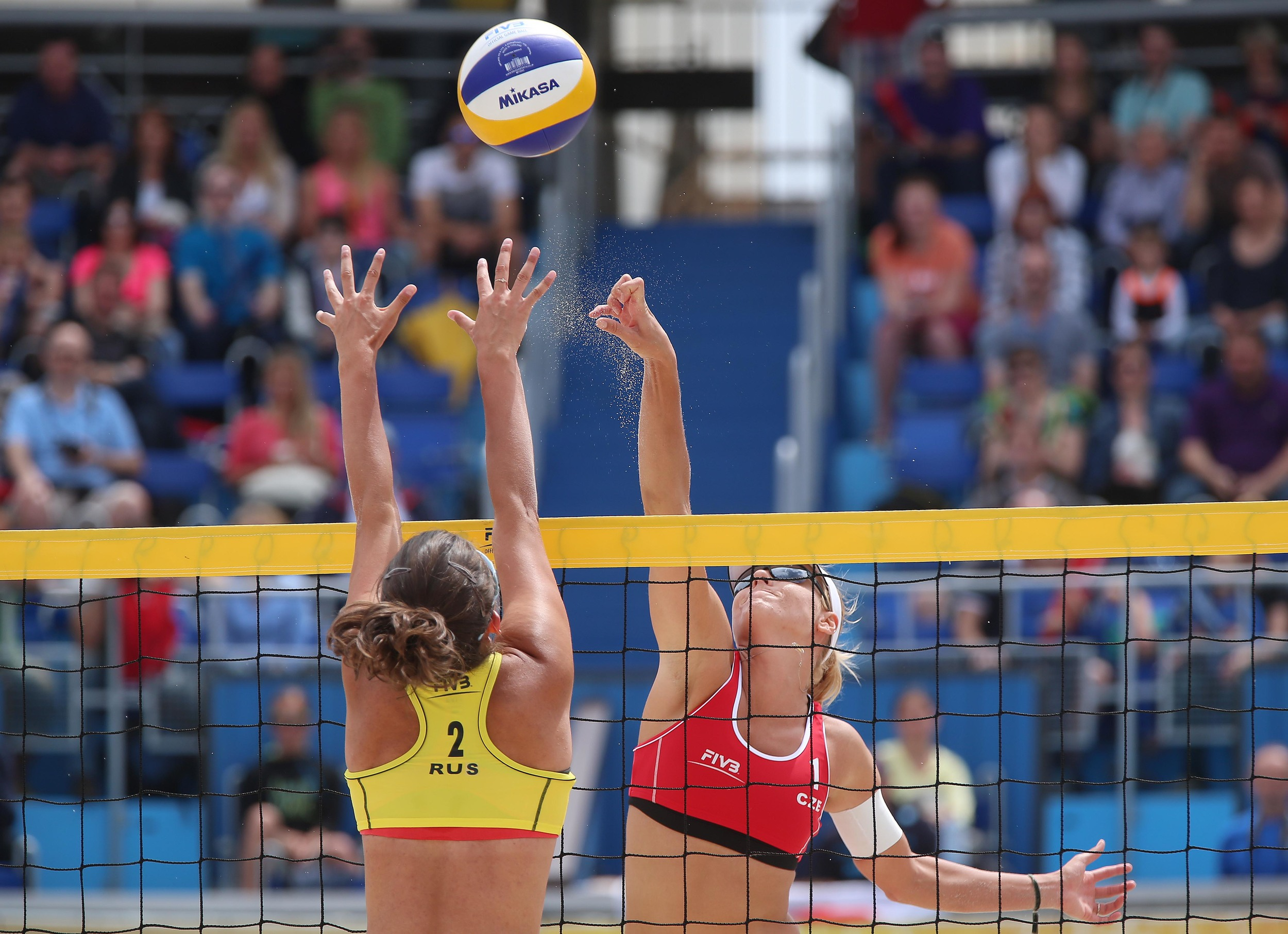 The FIVB Tour makes it way to Russia this week.  Photo: FIVB