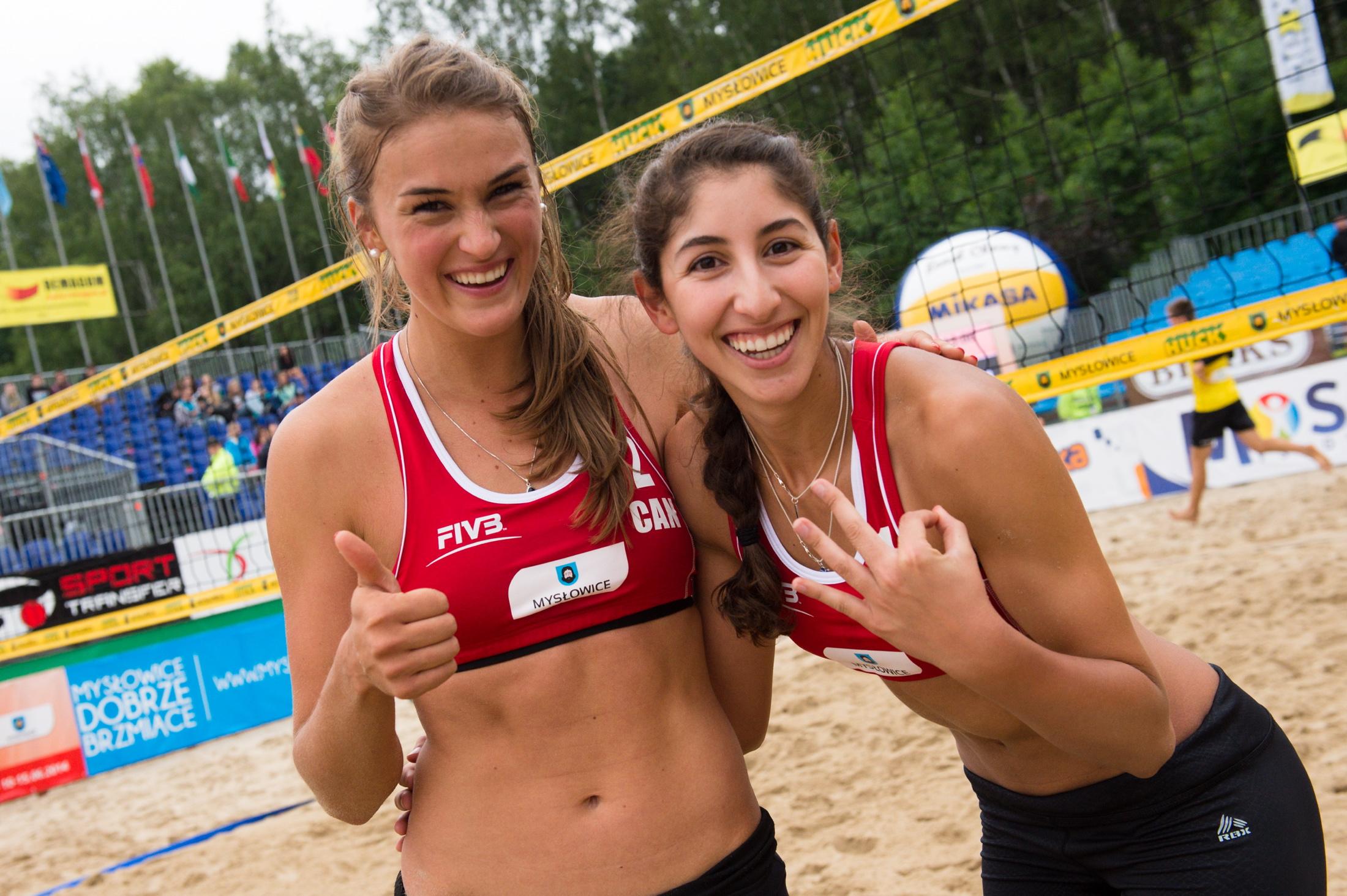 Taylor and Melissa claim FIVB U23 Bronze Photo: FIVB