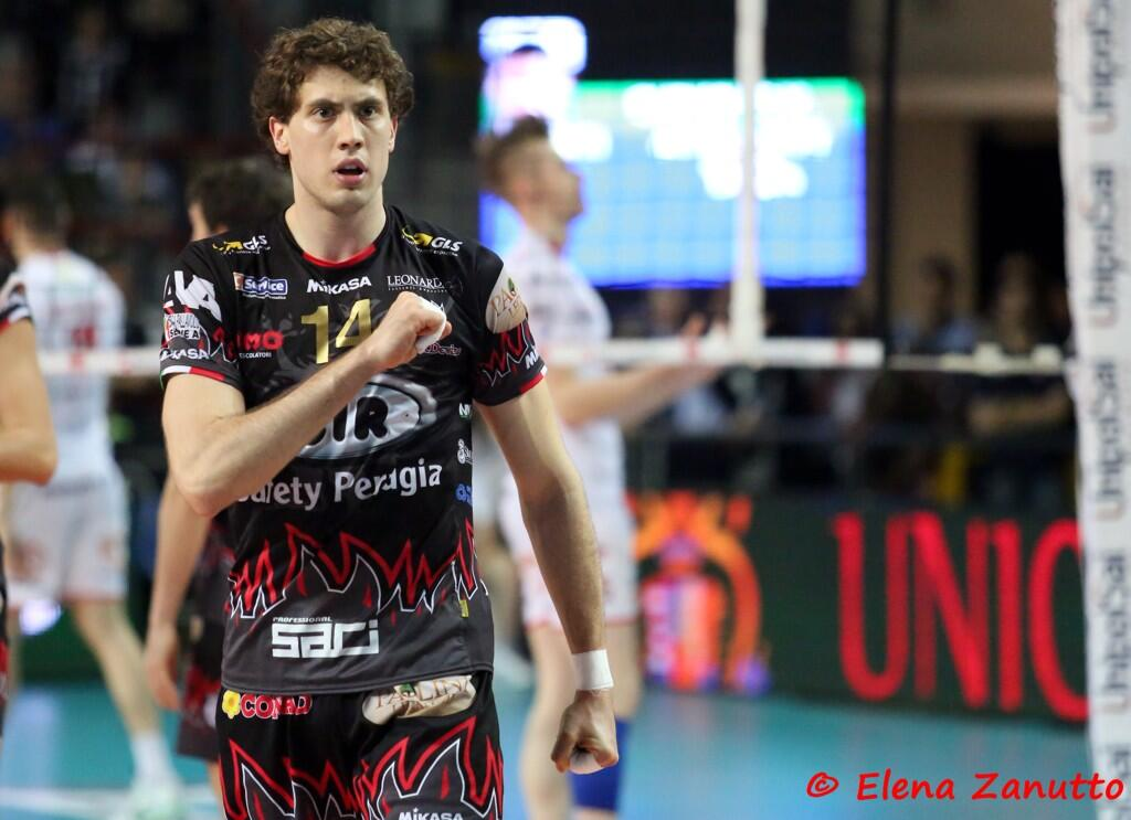 Serbia's Aleks Antanasijević is the focus of this Volleyball Source Profile. Photo: Elena Zanutto