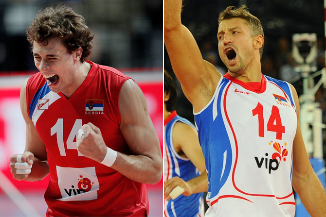 Aleks Antanasijević(Left) andIvan Miljković (Right). Photo: telegraph.rs