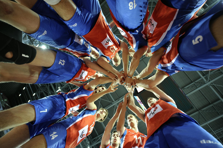 Team Serbia. Photo: CEV