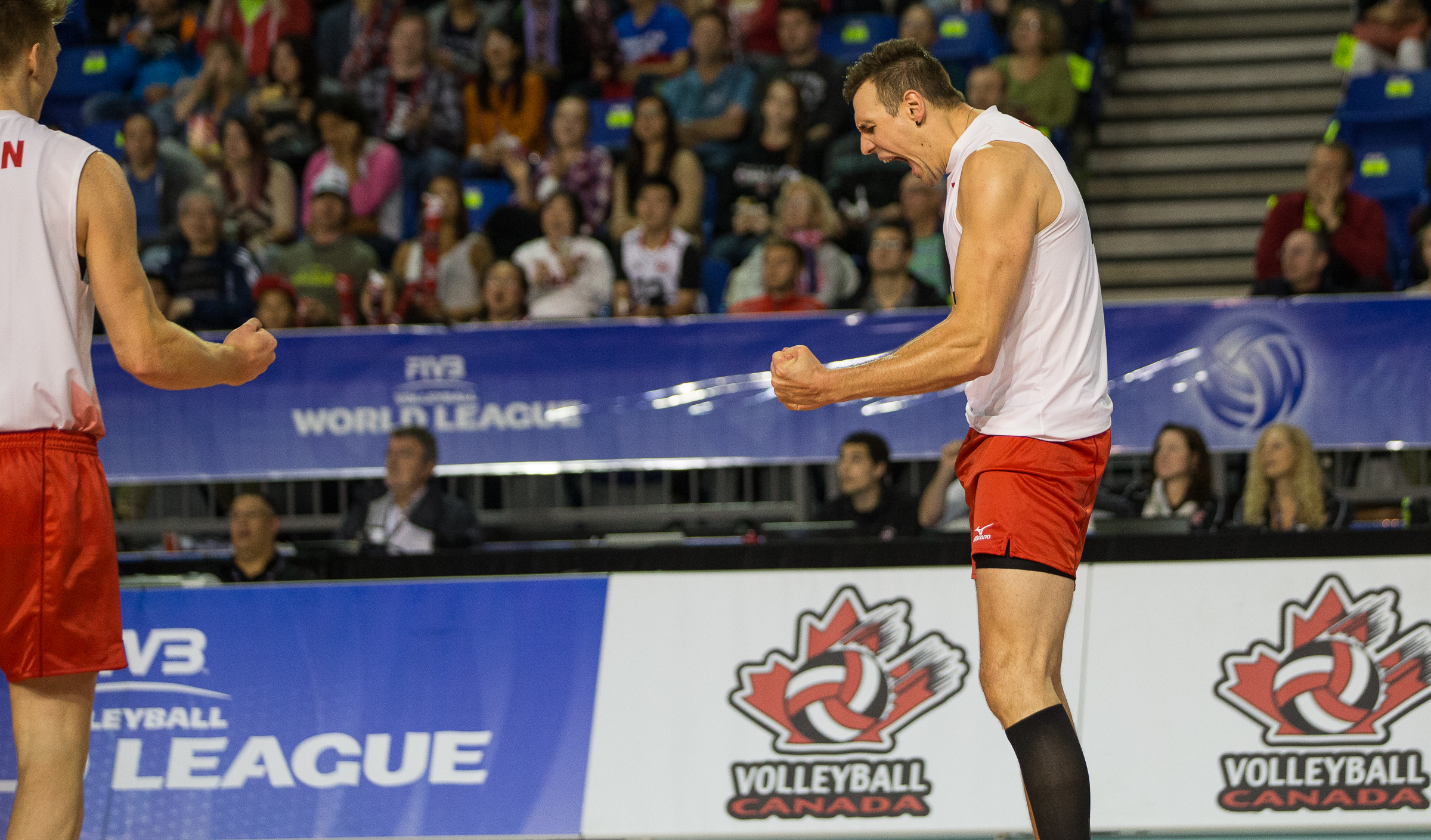 Canada faces Australia tonight at 7 p.m. MT at Rexall Place in Edmonton Photo: FIVB