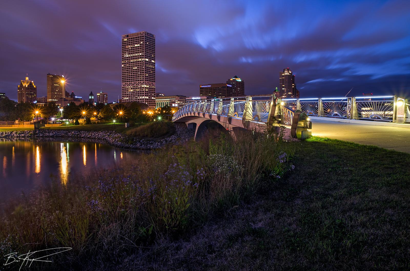 Milwaukee City Skyline. Photo:  Brian Koprowski  used under  CC .