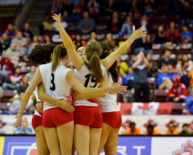 The Canadian women are back in the FIVB Grand Prix for the first time since 2003