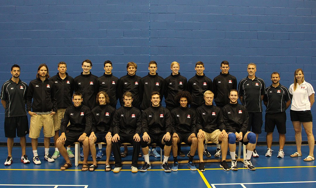 Canada's Junior National team will be looking to qualify for the 2015 World Championships  Photo: Volleyball Canada