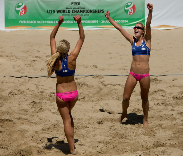 The Twins have already won one FIVB medal this year, can they grab another at the Youth Olympics? Photo: FIVB