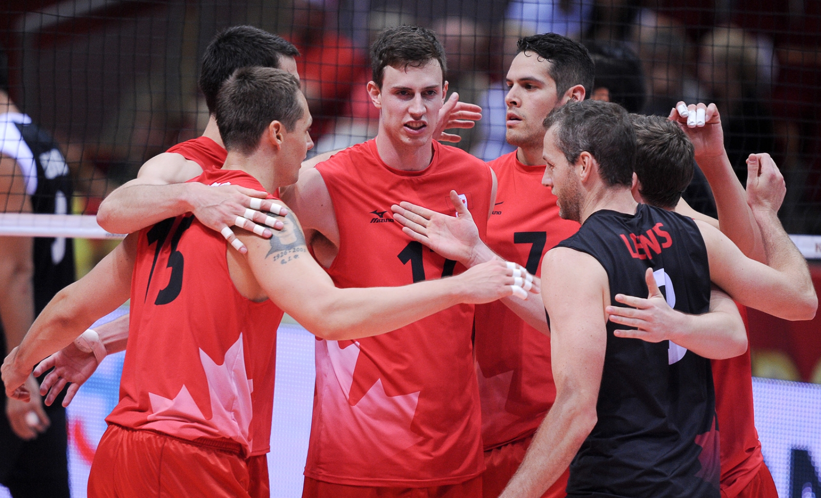 New faces, same result. Canada blows past Mexico 3-0 and clinches their spot in Phase 2 of the 2014 FIVB World Championships in Poland. They finish Phase 1 tomorrow at 10:30 a.m. ET against China. Photo: FIVB
